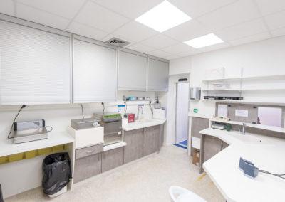salle de stérilisation et moulages